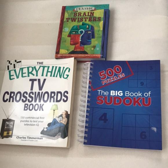 3 brain activity books